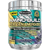 Muscletech Nature Made Amino Build Next Gen Blue Raspberry Supplement, 30 Servings
