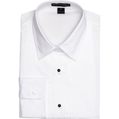 Women's Pleated Tuxedo Dress Shirt