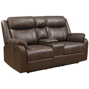 Klaussner Domino Reclining Loveseat