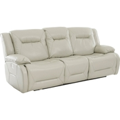 Klaussner Dansby Power Reclining Sofa with Power Headrest