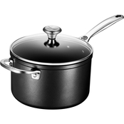 Le Creuset Toughened Nonstick Saucepan with Lid