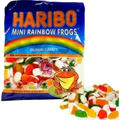 Haribo Mini Rainbow Frogs 12 bags