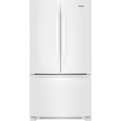 Whirlpool 36 In. Wide 25 Cu. Ft. French Door Refrigerator with Water Dispenser