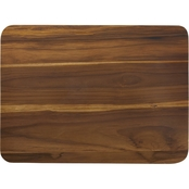Anolon Pantryware Teak Wood Cutting Board, 16 x 12 In.