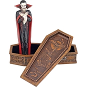 Design Toscano The Vampire Coffin of Dracula Statue