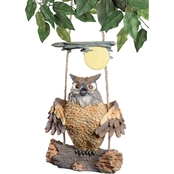 Design Toscano Howie the Hoot Owl Swinging Sculpture