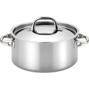 Anolon Tri Ply Clad Stainless Steel 5 Qt. Covered Dutch Oven