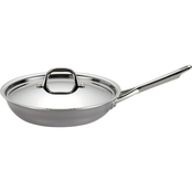 Anolon Tri Ply Clad Stainless Steel 12.75 In. Covered Skillet
