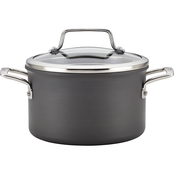 Anolon Authority Hard-Anodized Nonstick 4 Qt. Covered Saucepot