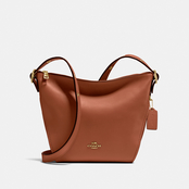 COACH Small Dufflette Leather Crossbody