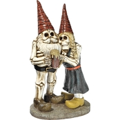 Design Toscano Bones and Brew Skeleton Graveyard Gnomes