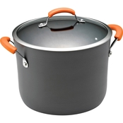 Rachael Ray Hard Anodized Nonstick 10 Quart Covered Stockpot