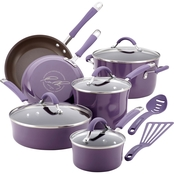 Rachael Ray Cucina Hard Porcelain Enamel Nonstick Cookware 12 Pc. Set