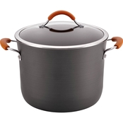 Rachael Ray Cucina Hard-Anodized Nonstick Covered Stockpot, 10-Qt.