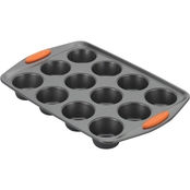 Rachael Ray Yum-o! Nonstick Bakeware 12 Cup Oven Lovin Muffin and Cupcake Pan