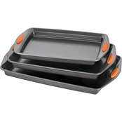 Rachael Ray Yum-o! Nonstick Bakeware 3 Pc. Oven Lovin' Cookie Pan Set