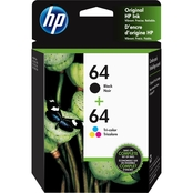 HP 64 Combo Ink (Black & Color)