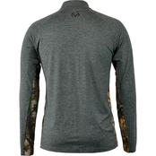 Realtree Icon Quarter Zip Windshirt