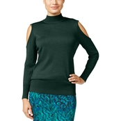 Thalia Sodi Cold-Shoulder Sweater