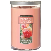 Yankee Candle Sun Drenched Apricot Rose 20 oz. 2 Wick Tumbler Candle