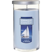 Yankee Candle Life's A Breeze 12 Oz. Medium Perfect Pillar