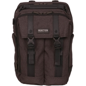 Reaction Kenneth Cole Front Flap Modern 15.6 In. Computer Business Backpack