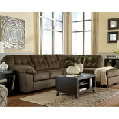Signature Design by Ashley Accrington LAF Sofa/RAF Chaise 2 Pc. Sectional