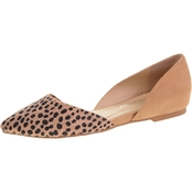 CL By Laundry Cheetah Pointed Toe Flats
