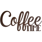 Simply Perfect Coffee Time Wall Plaque