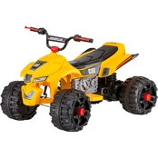 KidTrax Caterpillar CAT ATV Power Quad 12V Electric Ride On