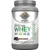 Garden of Life Grass Fed Whey Protein Isolate, Chocolate 2 lb.