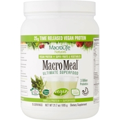 Macrolife Naturals MacroMeal Vegan Protein Chocolate 1.3 lb., 15 servings