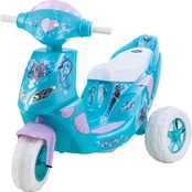 KidTrax Disney Frozen Twinkling Scooter 6Volt Electric Ride On