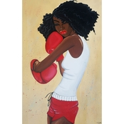 The Tiffani Glenn Collection Heart Of A Champion #2 16x20 Canvas Fine Art