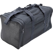 Flying Circle Large Square Duffel Bag