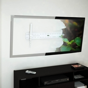 CorLiving Tilting Flat Panel White Wall Mount for 37 In. - 70 In. TVs