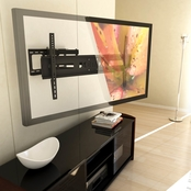 CorLiving Full Motion Flat Panel Wall Mount for 37 In. - 70 In. TVs