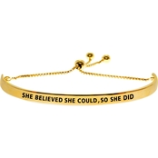 So You...Collection She Believed She Could So She Did Bracelet