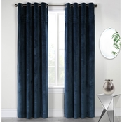 Commonwealth Home Fashions Victorian Grommet Top Drappery Panel