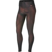 Nike Power Poly Print Training Tights