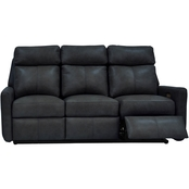 Omnia Leather Riverside Reclining Sofa