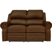 Omnia Italian Leather San Juan Reclining Loveseat