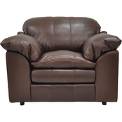 Omnia Italian Ventura Leather Chair