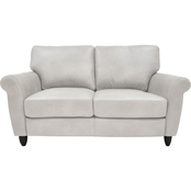 Omnia Leather Cameo Loveseat
