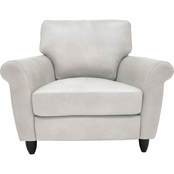 Omnia Italian Leather Cameo Chair