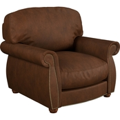 Omnia Leather Huntington Chair