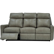 Omnia Italian Leather Riverside Reclining Sofa