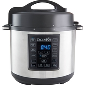 Crock-Pot 6 qt. 8 in 1 Stainless Steel Express Crock Programmable Multi Cooker