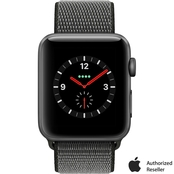 Apple Watch Series 3 GPS + Cellular 42mm Space Gray Aluminum Case with Sport Loop