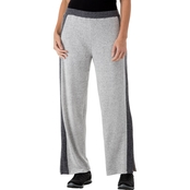 Jones New York Pull On Pants With Contrast Side Panels